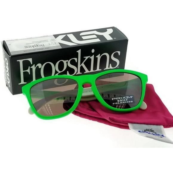 11a8d3fef94b OAKLEY Accessories | Oo901399 Mens Green Frame Polarized | Poshmark
